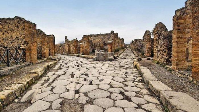 Fakta Unik Pompeii, Kota yang Hilang Akibat Letusan Gunung Berapi