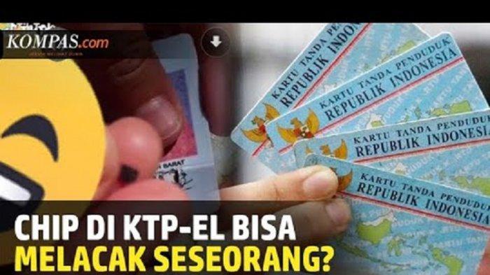 Benarkah Chip di E-KTP yang Dapat Lacak Keberadaan Seseorang?