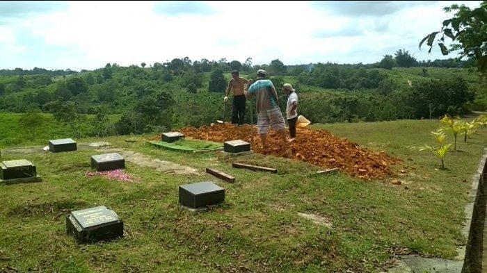 Kisah Penggali Kubur Pasien Covid-19 di Balikpapan, Takut Tapi Dipaksa
