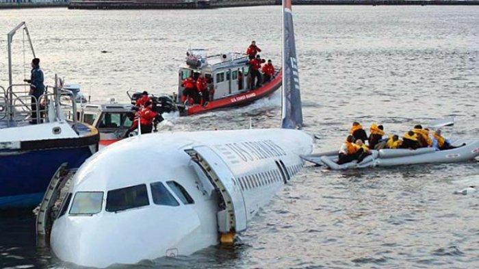 Bisakah Pesawat Terbang Lakukan Pendaratan Darurat di Permukaan Air?