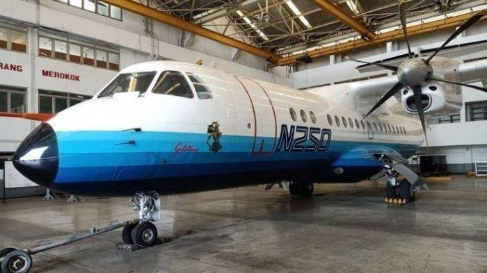 Pesawat N250 Gatotkaca Kebanggaan BJ Habibie Dimuseumkan