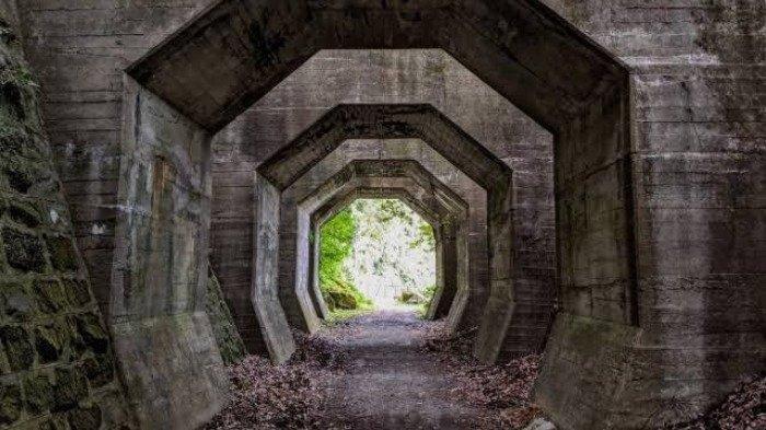 Sering Ciptakan Bayangan Misterius, Ini Sejarah Terowongan Segi  Delapan di Jepang