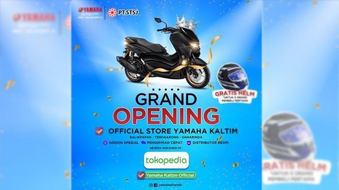 Permudah Konsumen, Yamaha Luncurkan Yamaha Kaltim Official di Tokopedia