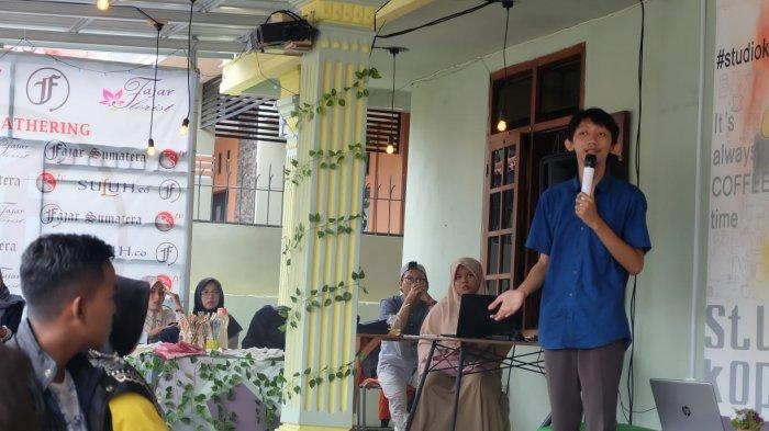 Potret aktivis lingkungan asal Lampung Dicky Dwi Alfandy.