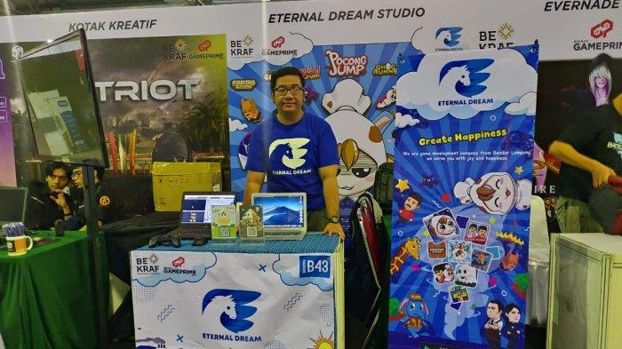 Potret game developer Lampung sekaligus founder Eternal Dream Studio Lucky Putra Dharmawan.
