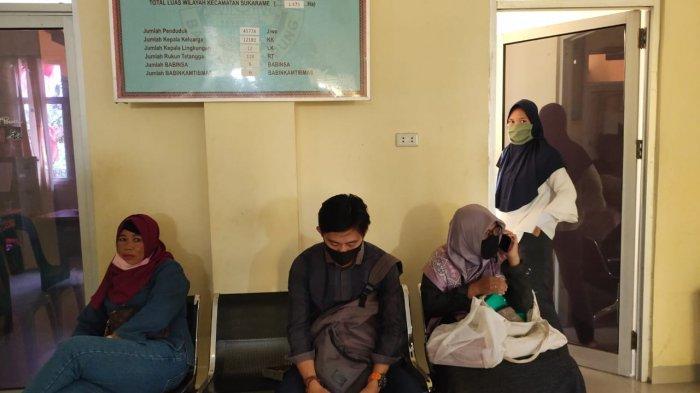 Kegiatan yang ada di kantor Kecamatan Sukarame, Rabu, 19 Agustus 2020.