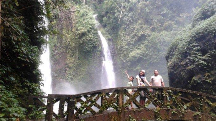 Air Terjun Kali di Minahasa