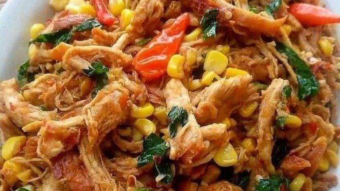 Ayam Suwir Gurih