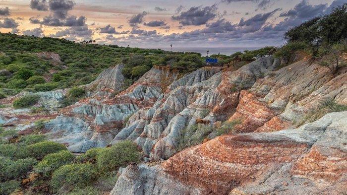 Mirip Painted Hills di Oragon, Ini Fakta Unik Kalabba Maja Nusa Tenggara Timur
