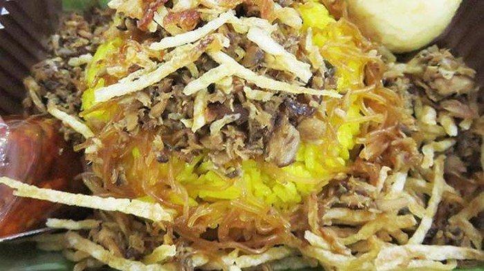 Nasi kuning Manado, Sulawesi Utara