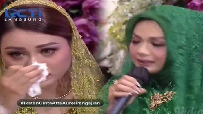 Pengajian Aurel Hermansyah. Sebentar lagi Aurel akan menikah dengan Atta Halilintar.