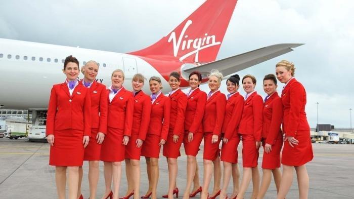 Pramugari Virgin Air