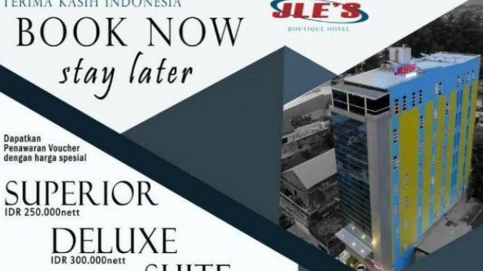 Jle's Boutique Hotel Manado Tawarkan Promo Menarik, Harga Mulai Rp 250 Ribu