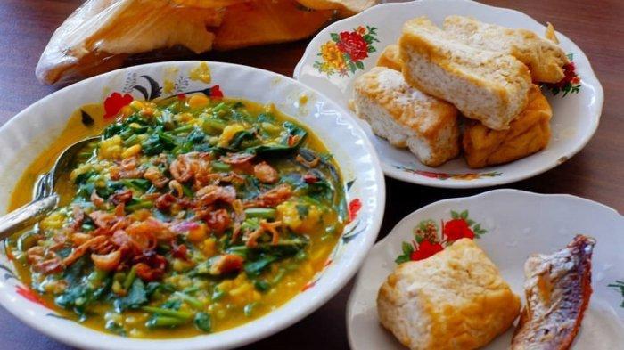 Tinutuan, kuliner khas Sulawesi Utara.