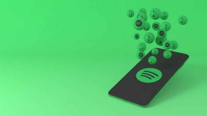 Ilustrasi Spotify.