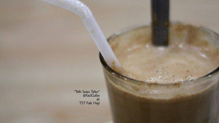 Rekomendasi 3 Kedai Teh Susu Telur yang Populer di Medan