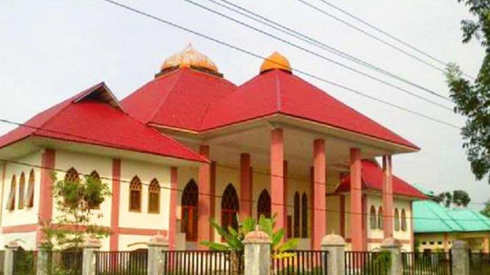 Replika Istana Sultan Asahan di Kabupaten Asahan, Selasa 22 Sepetember 2020