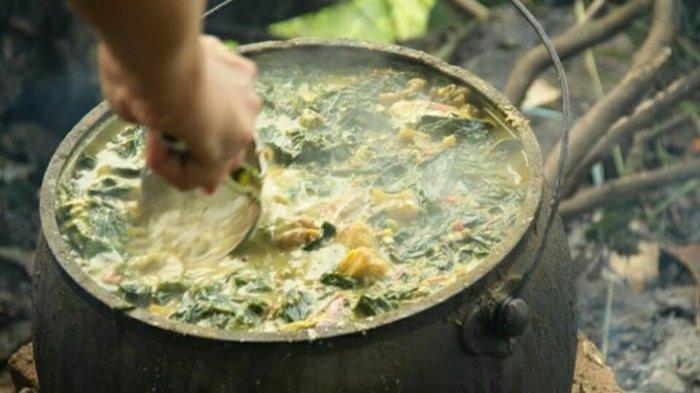 Trites, merupakan makanan tradisional khas Karo, Selasa 22 September 2020.