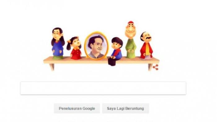 Google Sengaja Hadirkan Unyil, Pak Ogah, Meilani di Hari Ultah Pak Raden