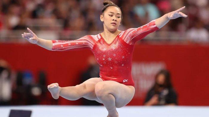 Pesenam Sunisa Lee Dedikasikan Medali Emasnya di Olimpiade Tokyo 2020 untuk Sang Ayah