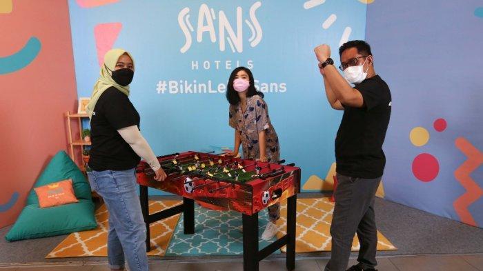 Sans Hotel, Hotel Baru Bergaya Milenial Hadir di Empat Kota