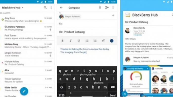 BlackBerry Hub Akhirnya Tersedia di Google Play Store