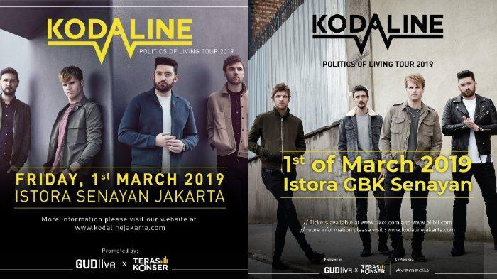 10 Hari Menuju Konser Kodaline 'Politics of Living Tour 2019' di Jakarta