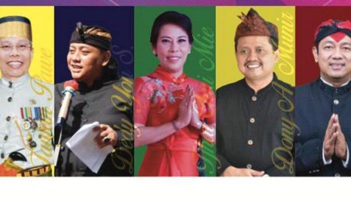10 kepala daerah (bupati/walikota) penerima Anugerah Kebudayaan PWI Pusat 2