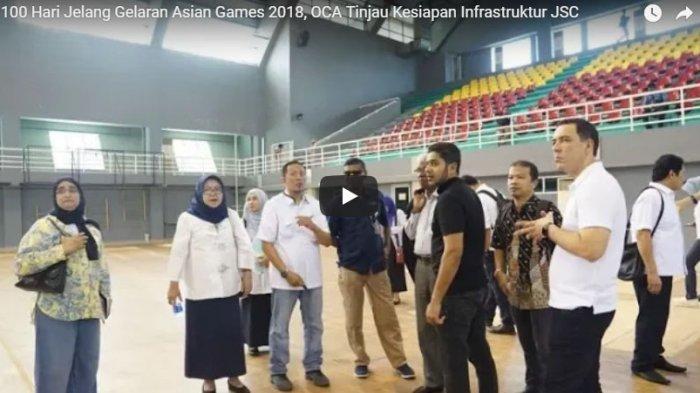 JK Sebut Venue Pertandingan Asian Games Maksimal Selesai Juni 2018