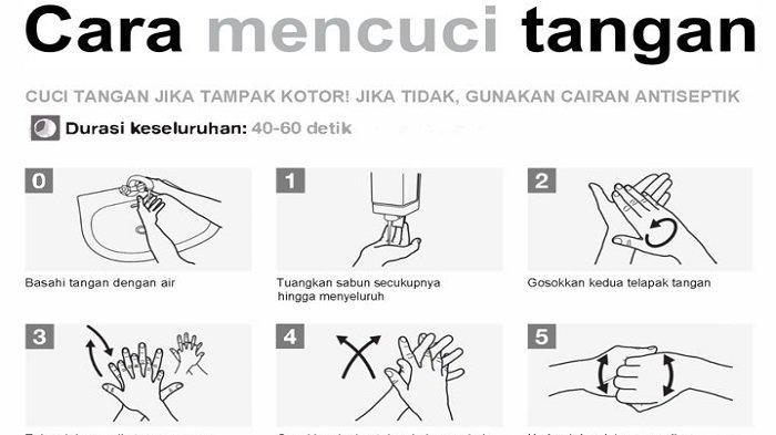 11 langkah cara mencuci tangan resmi dari WHO
