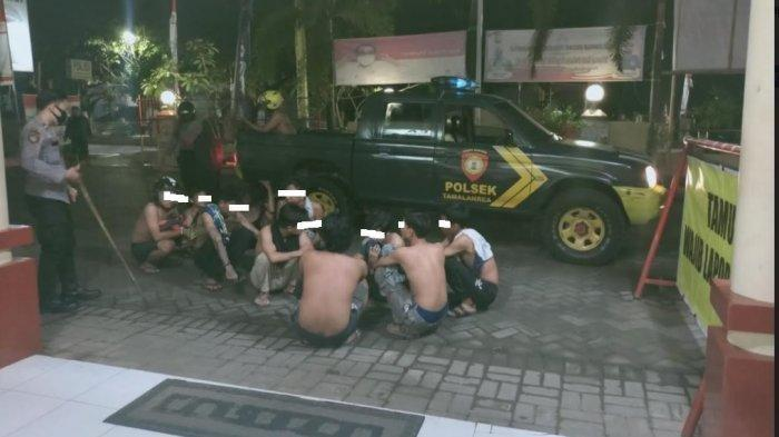 Polisi Amankan 11 Remaja Mabuk di Tamalanrea Makassar