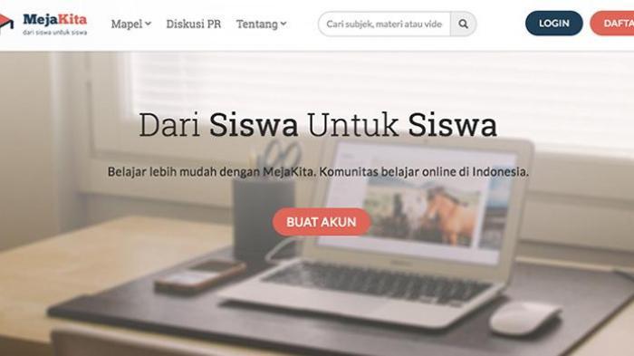 MejaKita.com Siap Bantu Siswa Selesaikan 'PR' dari Sekolah