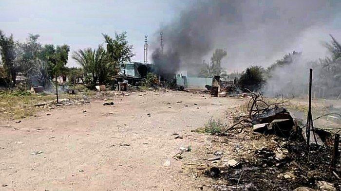 14 Roket Hantam Pangkalan Irak yang Tampung Pasukan AS, Tiga Orang Terluka