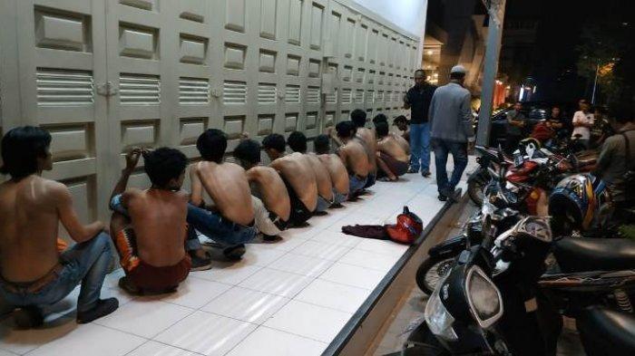 19 Pelajar Terlibat Tawuran di Jalan Selamat Ketaren Medan Ditangkap,17 Sepeda Motor Disita