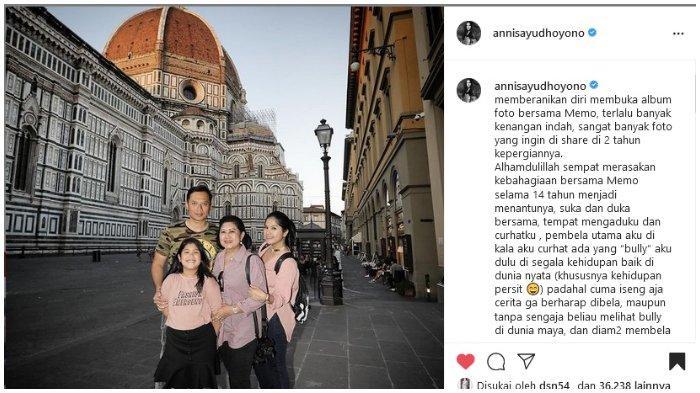 2 Tahun Kepergian Ani Yudhoyono, Annisa Pohan Kenang Kebersamaan Selama 14 Tahun saat Jadi Menantu