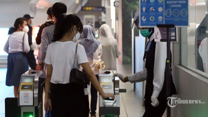 Kasus Corona di DKI Melonjak, MRT Jakarta Kuatkan Prokes di Area Kereta dan Stasiun