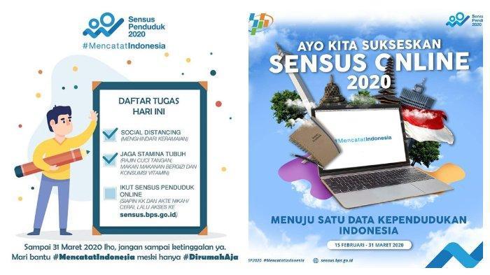 Sensus Penduduk Online Diperpanjang 29 Mei 2020, Ini Panduan Lengkap Pengisian Data