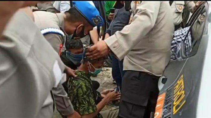 20 Pelajar Digelandang ke Mapolres, Diduga Hendak Menyusup Rombongan Pendemo Tolak UU Cipta Kerja