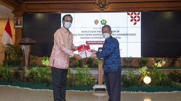 20 Situs Warisan Geologi di Yogyakarta Resmi Ditetapkan Kementerian ESDM