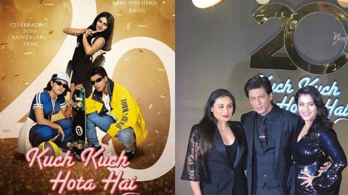 20 Tahun Kuch Kuch Hota Hai: Inilah 20 Fakta Film yang Dibintangi Shah Rukh Khan, Kajol, dan Rani