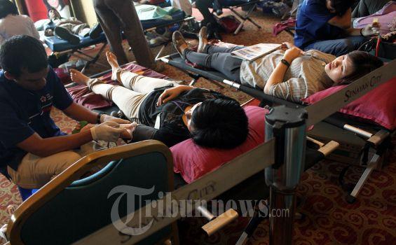 Relawan Jokowi Minta Masyarakat Tidak Takut Donor Darah di Masa Pandemi Covid-19