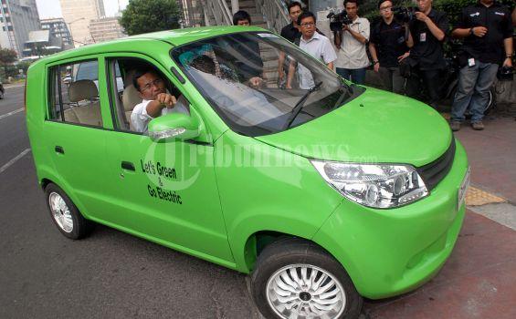 Mobil Listrik Dahlan Iskan Sempat Mogok Tiga Kali di Depok