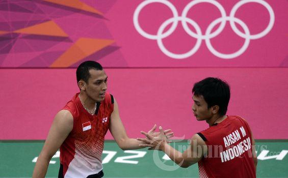 Hendra Setiawan/Mohamad Ahsan Habiskan Waktu Recovery Persiapan Perempat Final