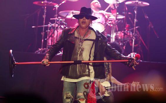 Guns N'Roses Tetapkan Jakarta dalam Daftar 'Not In This Lifetime Tour 2018'