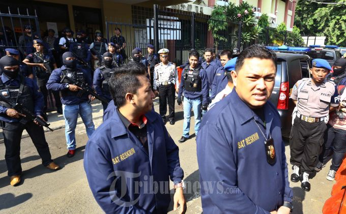 Hercules Mencoblos di TPS Lapas Cipinang
