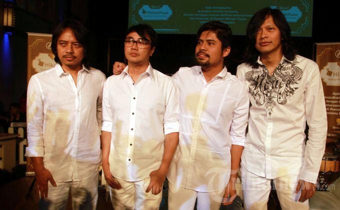 Gigi Band, tampil menghibur  pada acara program Rumah Hikmah Puasa