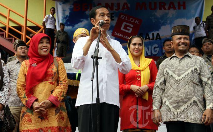 Jokowi: PD Pasar Jaya Kebanyakan Urus Properti Ketimbang Urus Pasar