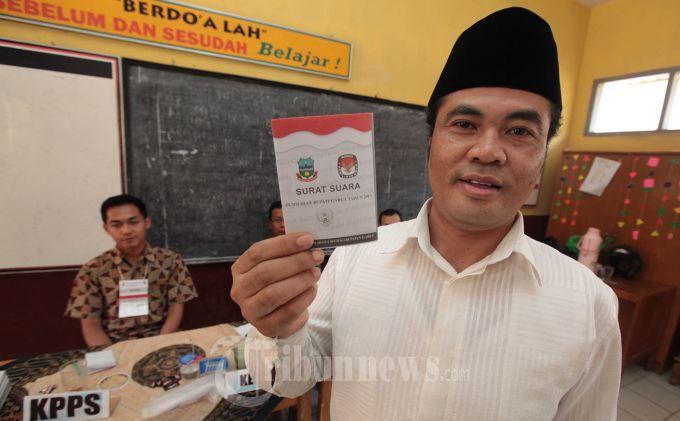 Oni-Aceng Fikri Lolos Jadi Anggota DPD RI