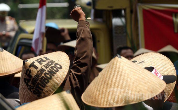 Besok, Ribuan Petani Akan Demo DPR Protes RUU Pertanahan