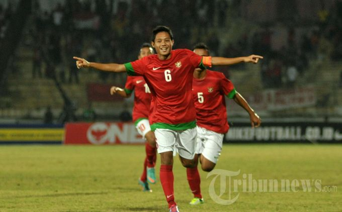 Evan Dimas Nyaman Menyandang Status Kapten Timnas U-19